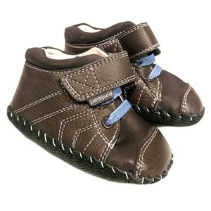 pediped Originals Jake Leather booties 6-12 months